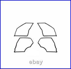 Mercedes W111 Door Rubber Weatherstrip Gasket Seal Set 4 Pieces 220 220S 220SE