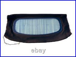 Mg Tf Mguk Black Hood Roof Soft Top Rear Glass Window