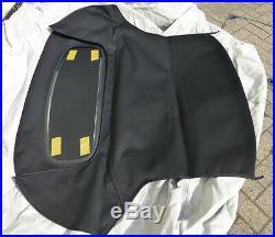 Mgf & Mg Tf Heated Glass Rear Window Hood, Black, Brand New (bgf2003glassblkz)