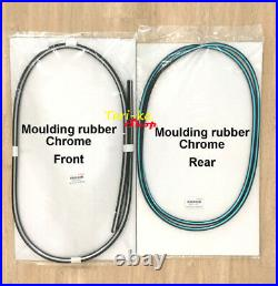 Moulding Rubber with Chrome Seal Front-Rear For Toyota Corolla AE100 AE101 EE100