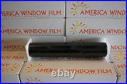 Nano Carbon Window Tint Film Vlt 5% Black 30 X 100 Ft 75% Infrared Rejection