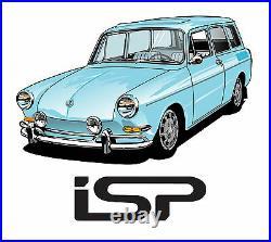 New VW Type 3 Squareback Original Style 6-Piece Window Rubber Kit 1962-1973