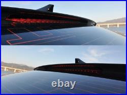 Onzigoo Roof Window Glass Wing Spoiler (Fits HYUNDAI Genesis 2017+ G80 Sedan)