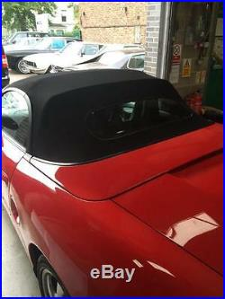 Porsche Boxster 986 New Mohair Hood With Heated Glass Rear Window