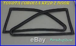 REAR Quarter Seal 1/4 TOYOTA COROLLA 1200 KE20 2 DOOR MODEL TE21 SET NEW LH&RH