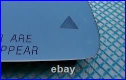 RIGHT MERCEDES C/E/GLK/S CLASS W212 W204 W207 W221 HEATED MIRROR GLASS USA blind
