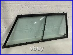 Range Rover 2 Door Classic Driver Side O/s Right Rear Window Frame & Glass