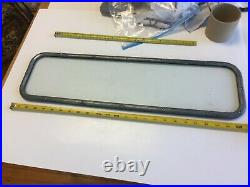 Rare Convertible Glass Rear Window Frame, Extra Nice Original, Ford Chevy Buick