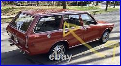 Rear Door Quarter Window Rubber Weatherstrip Seal For Datsun Nissan 510 Wagon WG