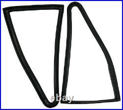 Rear Side 1/4 Quarter Window Rubbers For Toyota Corolla Ke25 Te27 2 Door Coupe