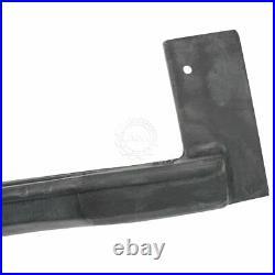 Rear & Side Cargo Door Seal Weatherstrip Set 4pc Kit for 74-96 Chevy GMC Van