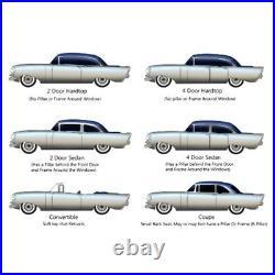 Rear Window Gasket Weatherstrip Seal for Chevrolet All Car 37-40 1Pc