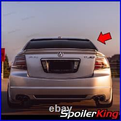 Rear window roof spoiler withcenter cut (Fits Acura TL 2004-2008) 818RC