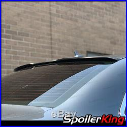 Rear window roof spoiler withcenter cut (Fits Audi A4 / S4 2006-2008 B7) 284RC