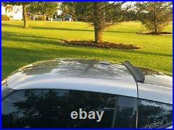 Rear window roof spoiler withcenter cut (Fits Nissan 370Z 2009-on) 284RC