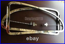 SAFARI VW BEETLE Side Pop-out WINDOW stainless steel KIT for 1959 1974