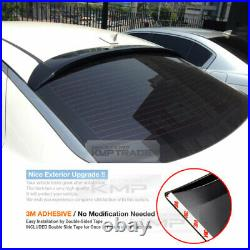Smoke Rear Roof Deflector Glass Rear Visor Molding For KIA 2011-2015 Optima K5
