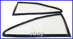 Toyota Corolla Ke20 E20 Te20 2 Door Rear Side Quarter 1/4 Window Rubbers Pair