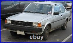 Toyota Corolla Ke70 E Te72 2 Door Sedan Rear Quarter Seal 1/4 Reproduct 90%