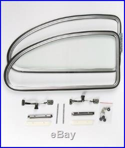 Type 1 Beetle Pop Out windows Kit for Bug 1950-1964 popout rear quarter Aluminum