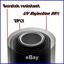 VLT 25% 30 60 5 FEET Office Car Home Commercial Uncut Window Tint Roll Film U1