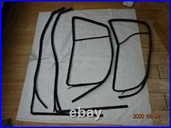 Vw Golf Mk2 Jetta Mk2 Door Window Seals Guides Scrapers 4 door kit