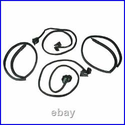 Weather Strip Seal Set Kit 13pc for 70-72 Chevy Chevelle Malibu 2 Door Hardtop