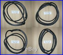Weatherstrip Door Rubber Complete Seal Set fits Toyota Corolla AE100 AE101 EE100