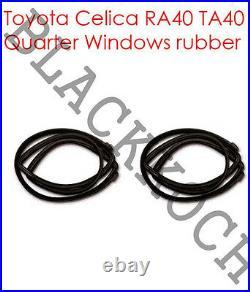 Weatherstrip Quarter Window Rubber set for Toyota Celica TA40 RA40 RA42 43 MA46