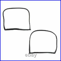 Weatherstrip Seal Kit 12 Piece Set for 73-77 Chevy Corvette Coupe with T-Top New