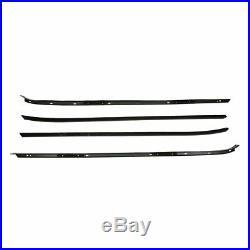 Weatherstrip Seal Kit Door Window Sweep Roofrail Trunk for 70-81 Camaro Firebird