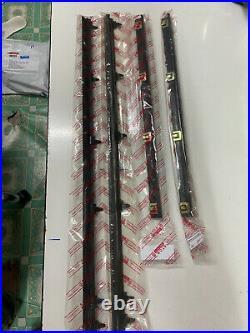 Weatherstrip Window Glass Door Belt Rubber FOR Toyota KE70 AE70 TE72 CE70 4DOORS