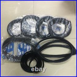 Weatherstrip seal 7pcs19681973 Datsun 510 Bluebird 1300 1500 1600 set complete