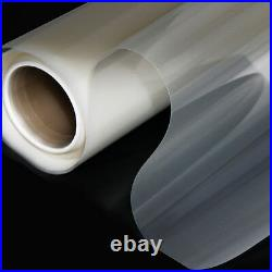Wide60/Clear Rear Projection Film/Projector/Screen/Material/WindowithGlass Decor