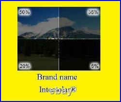 Window Film tint 2 Ply 40x100 FT 5%15%, 20% 35% 50% Intersolar Auto Residential