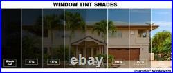 Window Film tint 2 Ply 48x100 FT 5%15%, 20% 35% 50% 70% Intersolar auto Residen