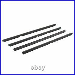 Window Sweep Outer Front & Rear Set of 4 for 99-04 Jeep Grand Cherokee