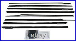 Window Sweeps Felt Kit for 1961-1962 Chevy Impala 4 Door Hardtop OEM