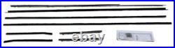 Window Sweeps Felt Kit for 1961-1963 Ford Thunderbird 2 Door Hardtop OEM