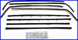 Window Sweeps Felt Kit for 1966-67 Dodge Charger 2 Door Hardtop OEM USA Made