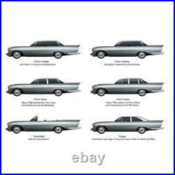 Window Sweeps Felt Kit for 1967-1968 Ford Galaxie 500 2 Door Fastback OEM