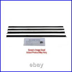 Window Sweeps Felt Kit for 1977-1979 Chevy Caprice 4 Door Sedan Outers Only