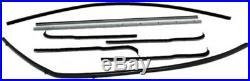 Window Sweeps Felt Kit for Ford F100 F250 1961-66 2DR PickUp OEM 8Pc Inner Outer