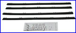 Window Sweeps for Mopar A-Body Valiant, Dart, Duster 70-76 Sedan Authentic 4pc